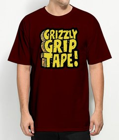 Camiseta Grizzly Griptape Brick - No Hype