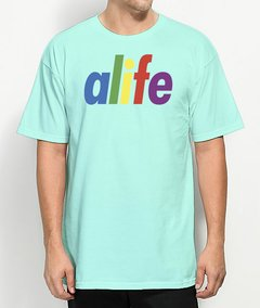 Camiseta Alife Logo Colors na internet