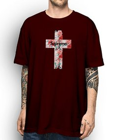 Camiseta Supreme The Cross - loja online