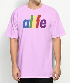 Camiseta Alife Logo Colors - No Hype