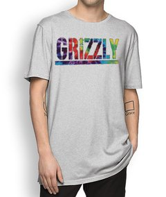 Camisetal Grizzly Letter Tie Dye - comprar online