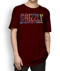 Camisetal Grizzly Letter Tie Dye - No Hype