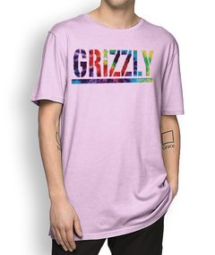 Camisetal Grizzly Letter Tie Dye - loja online