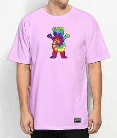 Camiseta Grizzly Logo Tiedye - No Hype