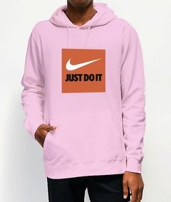 Moletom Canguru Nike Just Do It - No Hype
