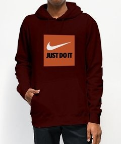 Moletom Canguru Nike Just Do It - loja online