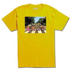 Camiseta No Hype Mario Abbey Road na internet
