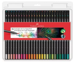 Colores Supersoft x 50 Faber Castell