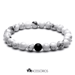 Pulseira White and Black