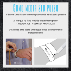 Pulseira Basic White Inox na internet