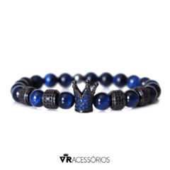 Pulseira Crown Luxury Blue