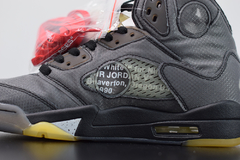 Tênis Air Jordan 5  x ''Off-White''