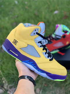 "Tênis Air Jordan 5  ''What The"" - loja online"