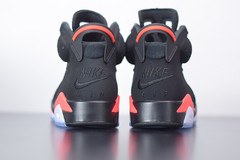"Imagem do Tenis Air Jordan 6 ""Black Infrared'"