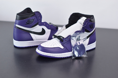 "Tênis  Jordan 1 High ""Court Purple 2.0"" - Outh Clothing"