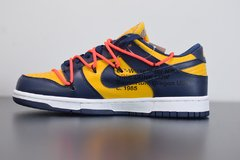 "Nike Dunk Low x Off-White ""University Gold Midnight Navy"" - comprar online"