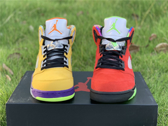 Tênis Air Jordan 5  ''What The""