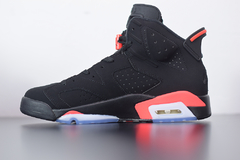 "Tenis Air Jordan 6 ""Black Infrared' - Outh Clothing"