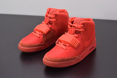 "Tênis Nike Air Yeezy 2 ""Red October"" na internet"