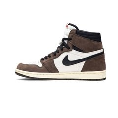 Tênis Air Jordan 1 x Travis Scott - Dark Mocha