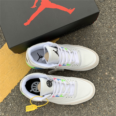 "Tênis Air Jordan 3  ""Quai 54 White"" - Outh Clothing"