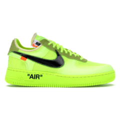 "Tênis Nike Air Force 1 Low x Off-White ""Volt"""