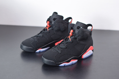 "Tenis Air Jordan 6 ""Black Infrared' - loja online"