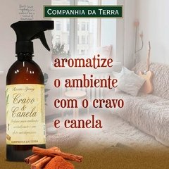 Room Spray Cravo e Canela