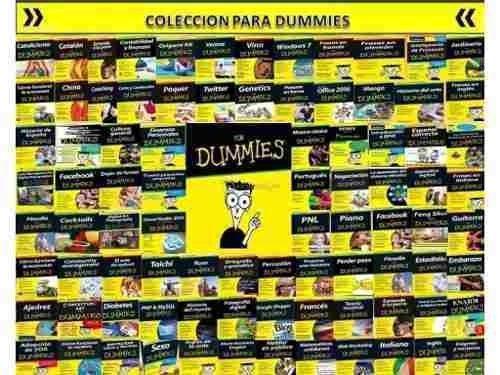 Libros Para Dummies Cada Uno