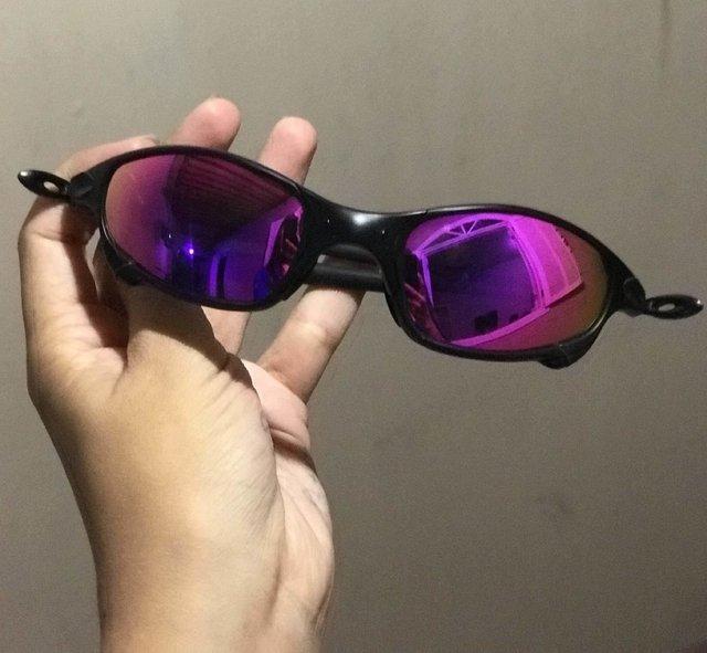 71e135f75 Óculos Oakley Juliet Preto Lente Lilas - Sevet Company