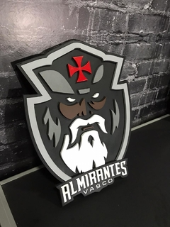 Logo Almirantes - Placa 3D Decorativa na internet