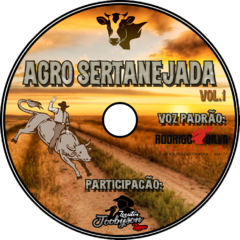Download do CD Agro Sertanejada Volume 1