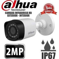 Kit Seguridad Dahua Full Hd 1080p Dvr 4 + 2 Camaras 2mp Ip67 - comprar online