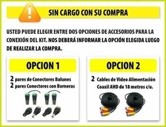 Kit Seguridad Hikvision Dvr 4 + 2 Camaras Hd Exterior Ip 66 en internet