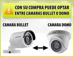 Kit Seguridad Hikvision Dvr 4 Ch + 3 Camaras Full Hd 2mp Ext - comprar online