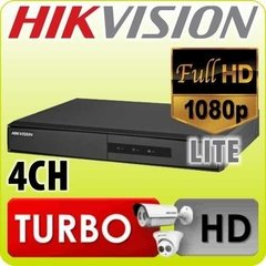 Dvr Ds-7204hghi-f1 Hikvision Turbo Hd Camaras Seguridad Cctv