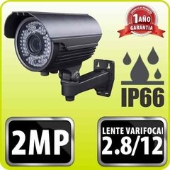 Cámara Seguridad Full Hd 1080p 2 Mp Varifocal Ext 2.8 A 12mm
