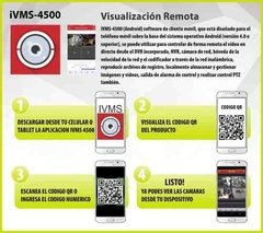 Kit Seguridad Hikvision Dvr 4 Ch + 2 Camaras Full Hd 2mp Ext - tienda online