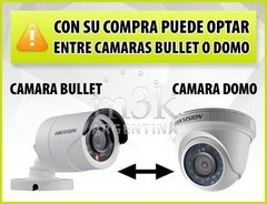 Kit Seguridad Hikvision Full Hd 1080p Dvr 8 + 8 Camaras 2 Mp - comprar online