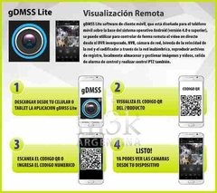 Kit Seguridad Dahua Dvr 4 + 4 Camaras Ir Full Hd 1080p 2 Mp - tienda online