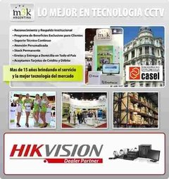 Kit Seguridad Hikvision Full Hd 8ch 1080p + 4 Camaras 3mp - M3K ARGENTINA