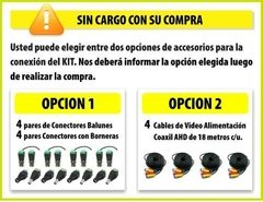 Kit Seguridad Hikvision 1080p Dvr 8 Ch + 4 Camaras 1mp Ext en internet