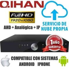 Kit Seguridad Dvr 16 + 8 Camaras Varifocal 2.8 A 12 Mm 2 Mpx - comprar online