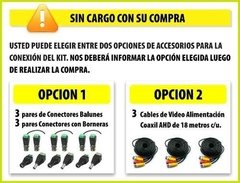 Kit Seguridad Hikvision Dvr 4 Ch + 3 Camaras Full Hd 2mp Ext en internet