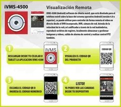 Kit Seguridad Hikvision Full Hd Lite Dvr 8 + 4 Camaras Audio