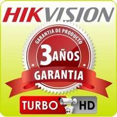 Imagen de Kit Seguridad Hikvision Dvr 4 Ch + 3 Camaras Full Hd 2mp Ext