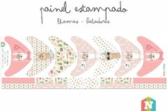 Painel Lhamas - Babadores