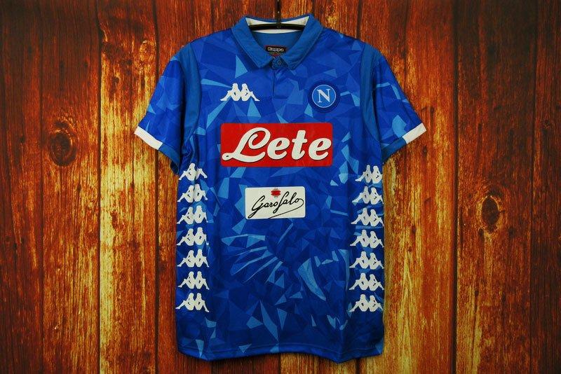 e57cecfb521e6 Camisa Napoli Home 18-19 - Comprar em banana imports