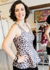 Peplum Animal Print MA Clothes