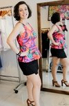 Peplum floral MA Clothes